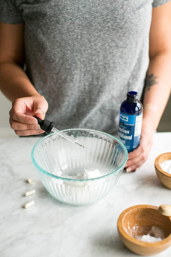 DIY Remineralizing Toothpaste with Probiotics