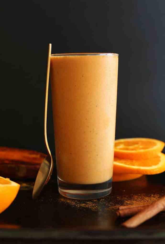 Immune Booster Orange Smoothie by Minimalist Baker