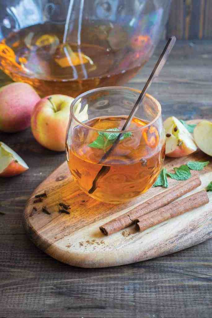 Energizing Autumn Cinnamon-Apple Shrub