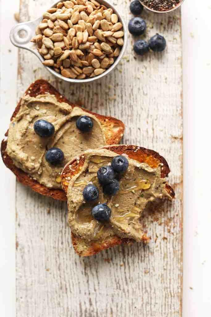 Sunflower Seed Butter by Minimalist Baker