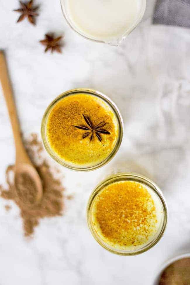 How to Make a Chai-Spiced Turmeric Latte
