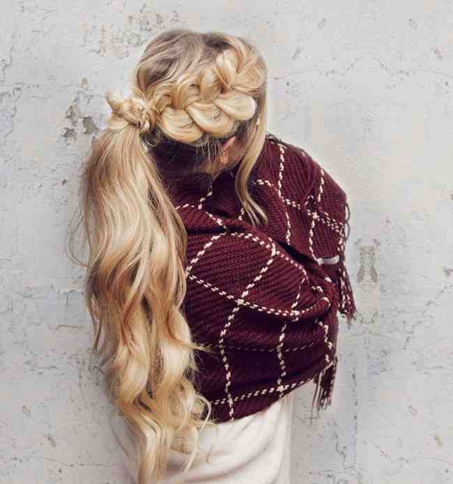 Braided ponytail - 11 Braided Ponytail Tutorials Perfect for Fall