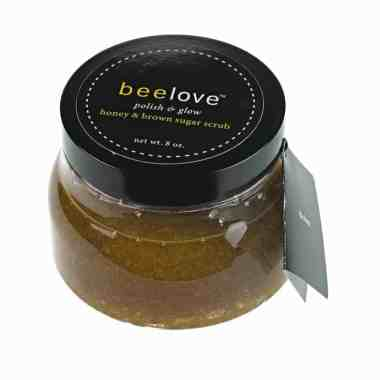 beelove restore polish & glow honey & brown sugar scrub