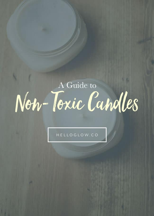 A Guide to Non-Toxic Candles