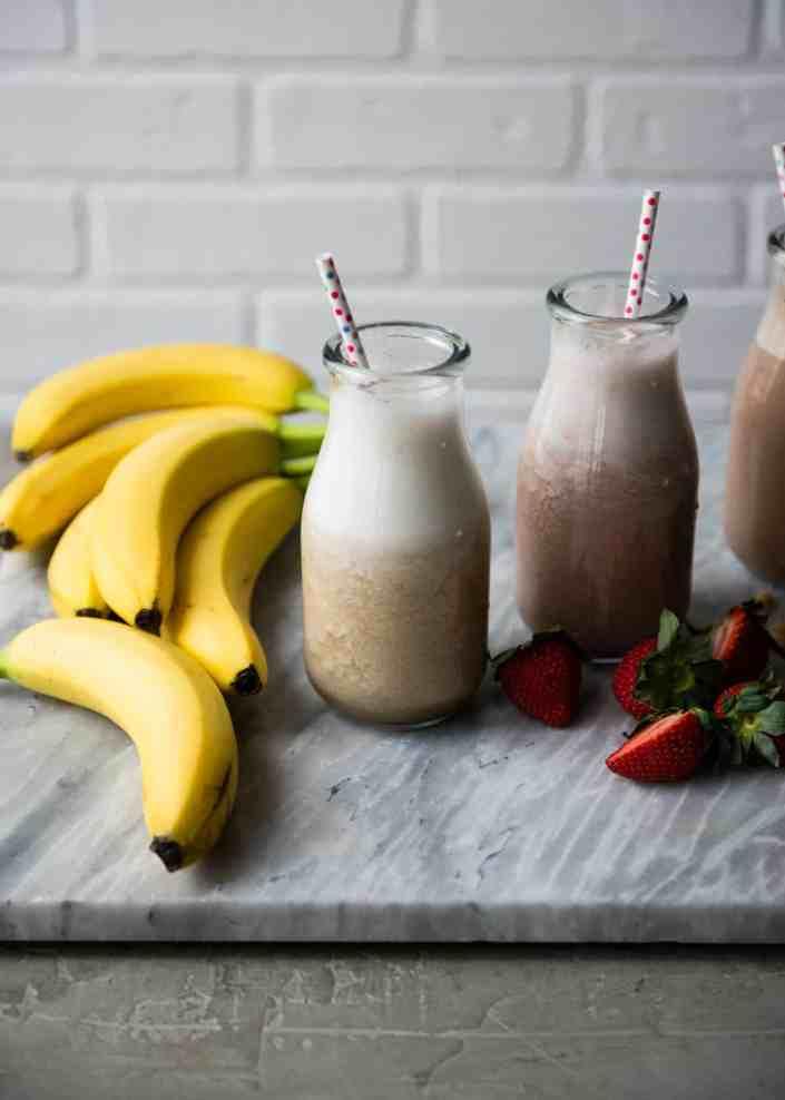 How to Make Banana Milk 3 Ways
