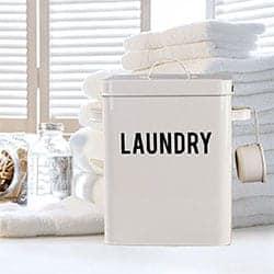 Laundry Detergent Storage