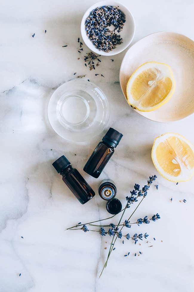 Lavender Lemonade DIY Body Spray