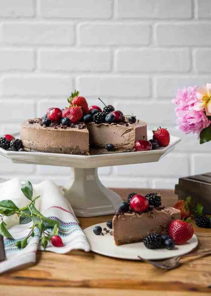 Vegan Mexican Cheesecake