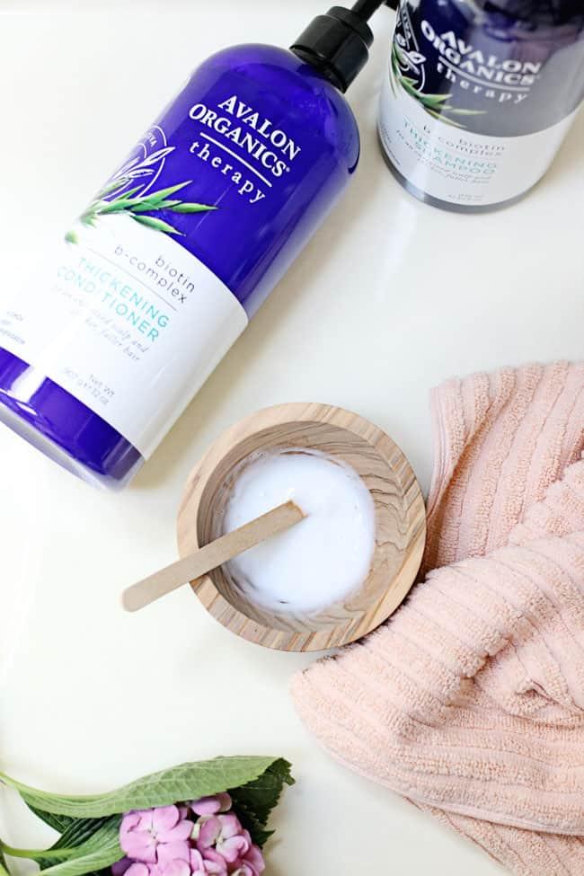 DIY Strengthening Hair Detangling Spray