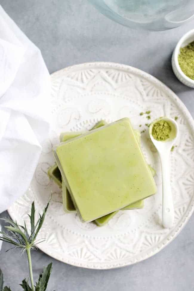 These DIY Matcha Lotion Bars Are a Multitasking Miracle Worker