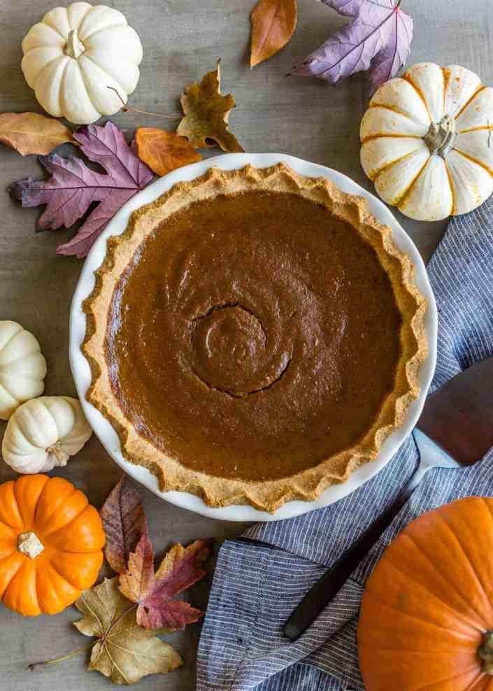The Perfect Grain-Free Paleo Pumpkin Pie