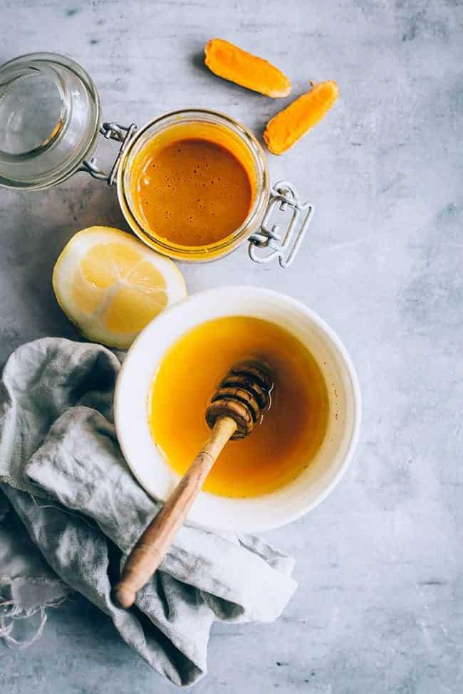 Turmeric Honey Anti-Inflammatory Morning Drink