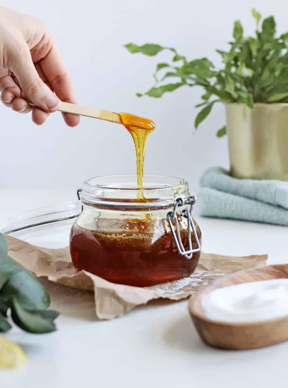 homemade sugar wax how to sugarwax