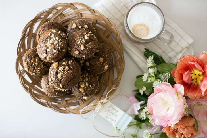 Mocha Maca Muffins + The Recipe for a Perfect Mother's Day