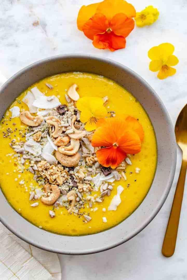 Mango Tango Glow Bowls from Nourishing Superfood Bowls