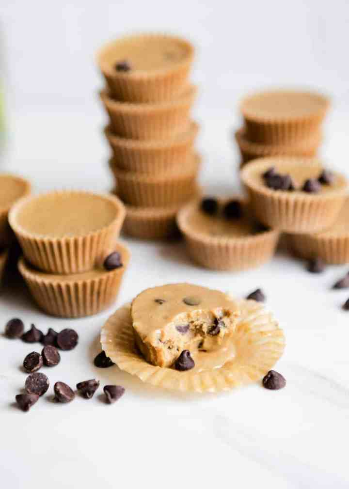 SunButter Chocolate Chip Keto Fat Bombs | HelloGlow.co