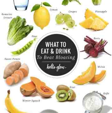 Best Foods to Beat Bloating - Hello Glow