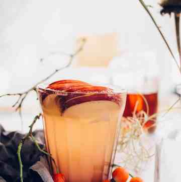 Bourbon Ginger Cider Recipe