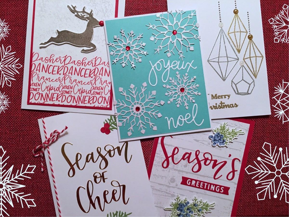 classic  contemporary christmas cards  gnome decor