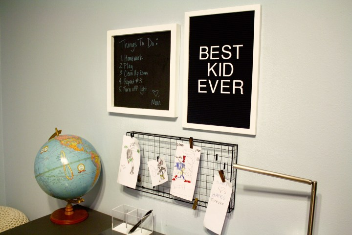 We Did This One FAST-Boys Bedroom Remodel Styled By Hello GorJess