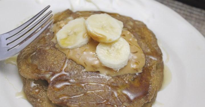 5 Ingredient Gluten Free- Vegan Banana Pancakes