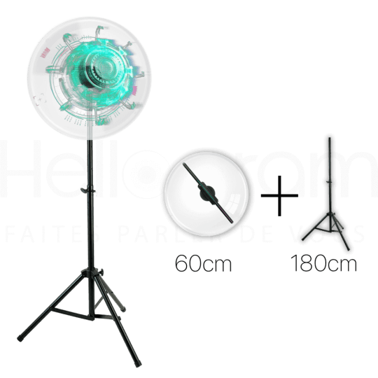 pack helice holographique 60cm