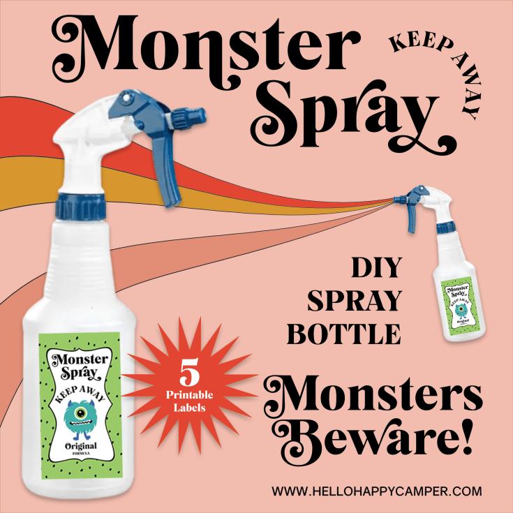 Monster Spray DIY