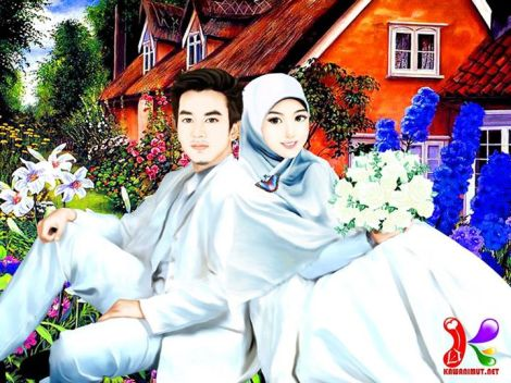 Artwork Dengan Tema Pernikahan Dari Kawan Imut  Hello