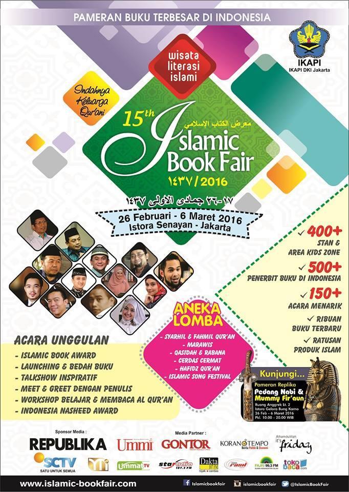 Islamic Book Fair 2018 Jakarta : islamic, jakarta, Susunan, Acara, Islamic, Istora, Senayan, Jakarta, Hello, Hijabers