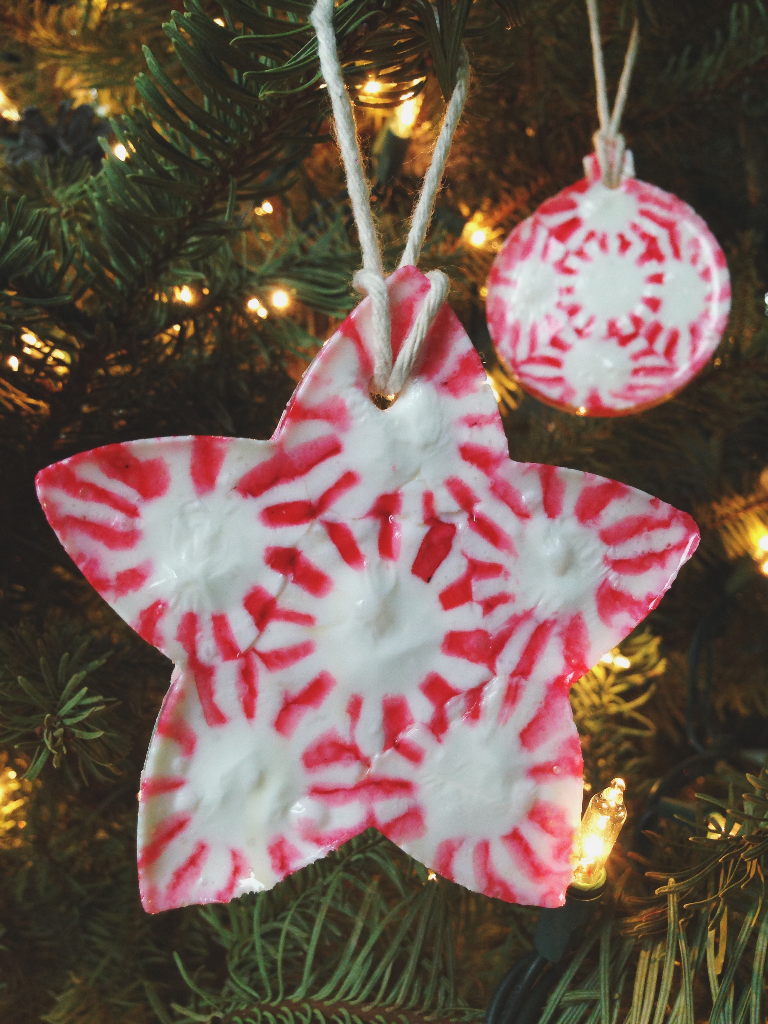 Candy Christmas Ornament Crafts
