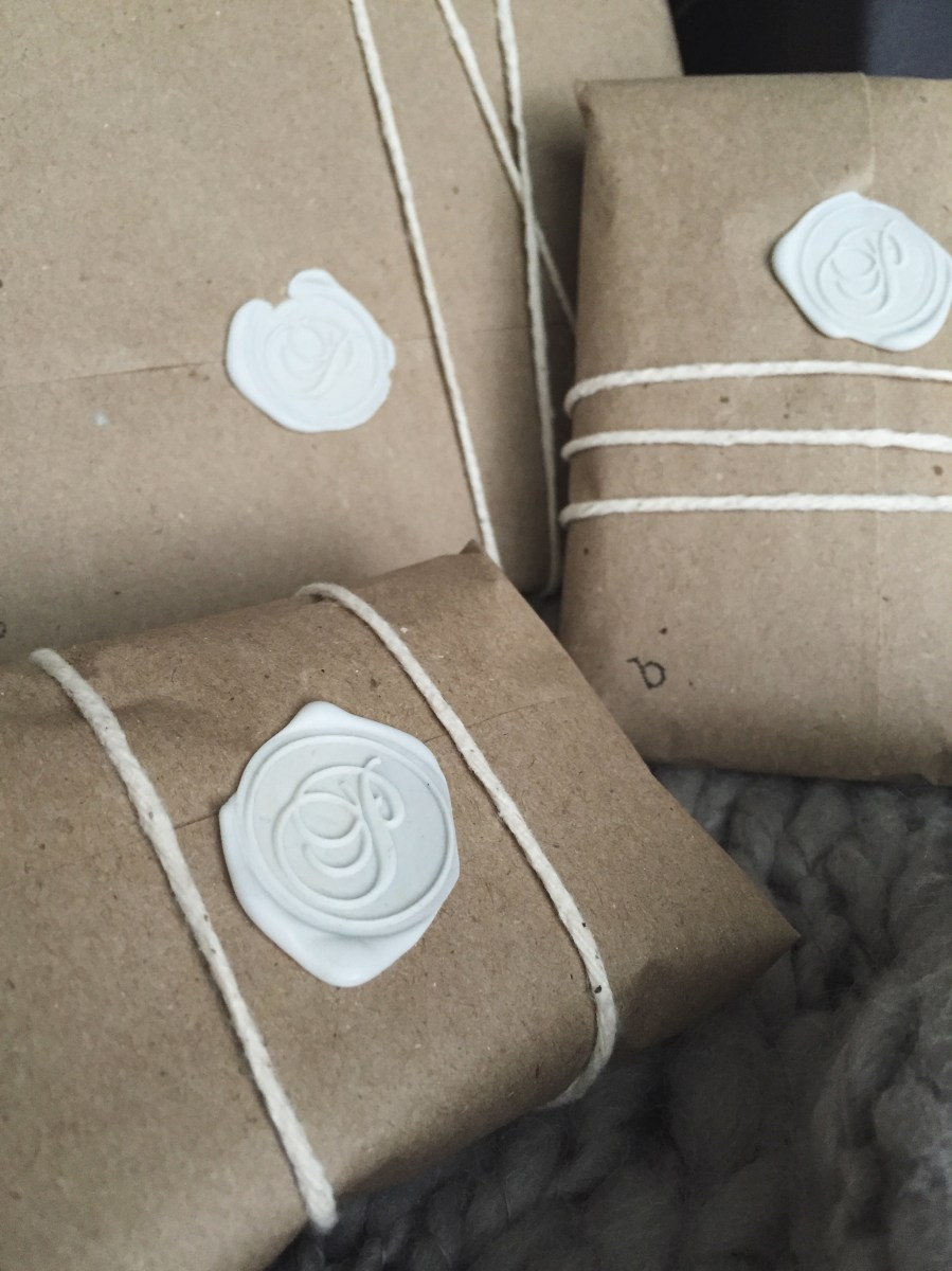 DIY Gift Wrap With Wax Seals