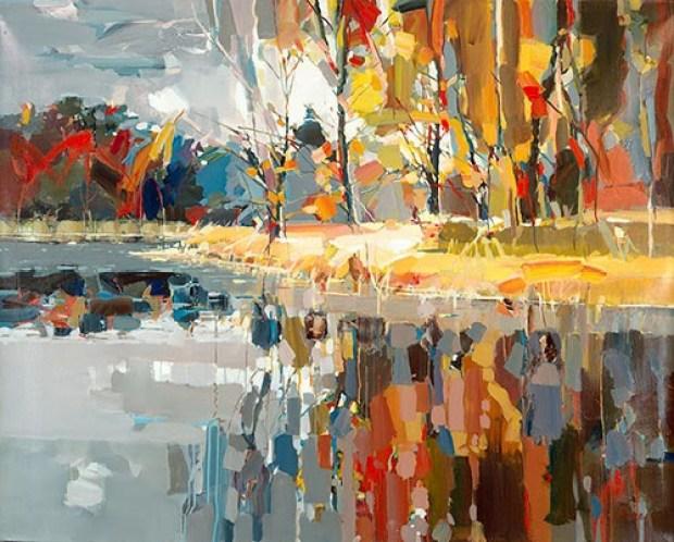 fall colors in Josef Kote art roomsrevamped.com