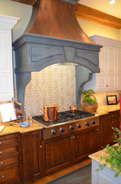 Kitchen designed by Robin for the 2015 Atlanta Decorator's Show House
