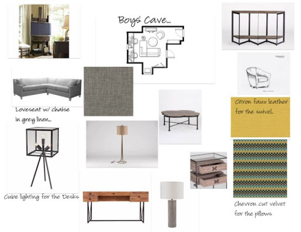 Designed by Robin LaMonte of Rooms Revamped Interior Design