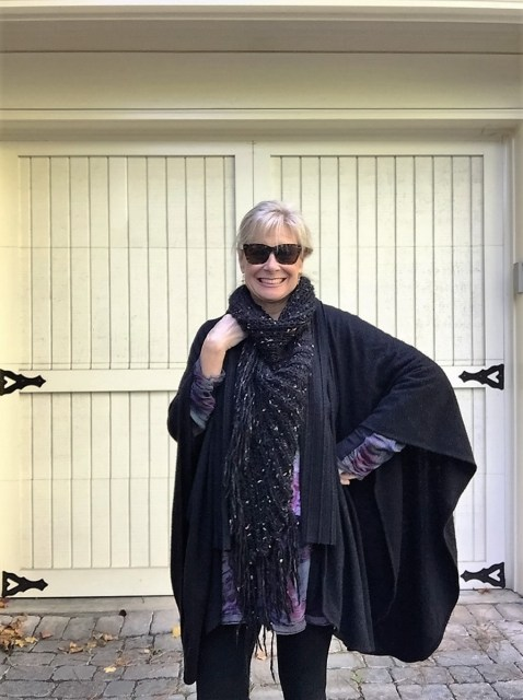 Fashion over 50: Fall's Must Have- The Cape- Hello I'm 50ish