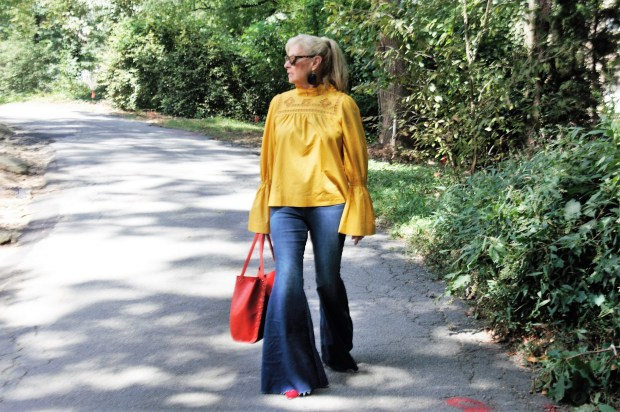 Fall Fashion Preview: I'll have a little Mustard with my Jeans