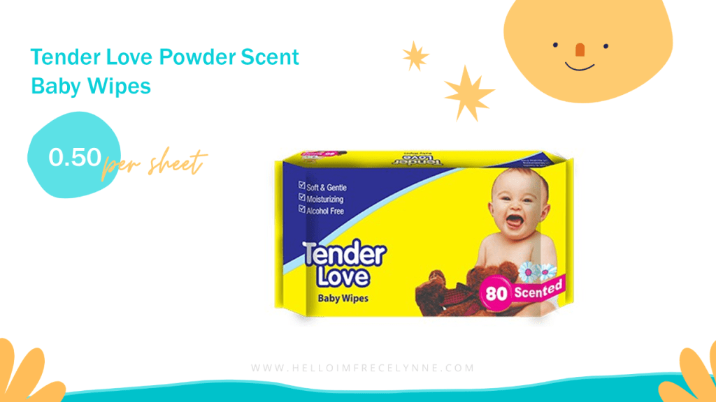 Tender Love Powder Scent Baby Wipes
