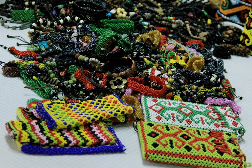 Aesthetic Dayak tribal accessories