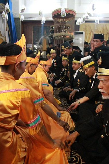 Seluang Betebak Rice Homecoming, a form of gratitude for food prosperity