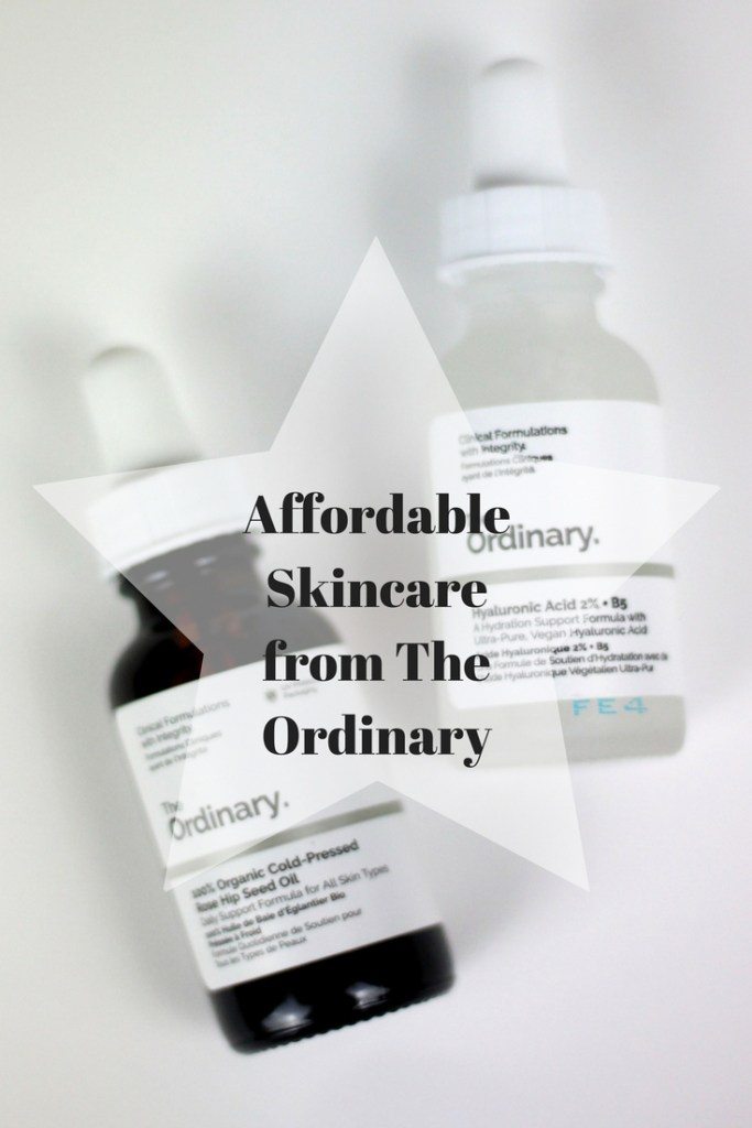 Affordable Skincare from The Ordinary