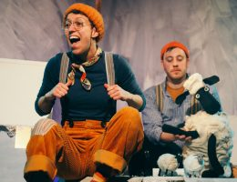 Wolf! At Northern Stage: Theatre For Under 5s