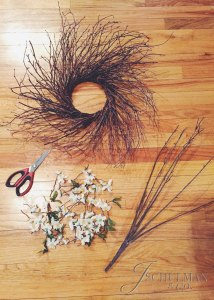 DIY Rustic Wreath