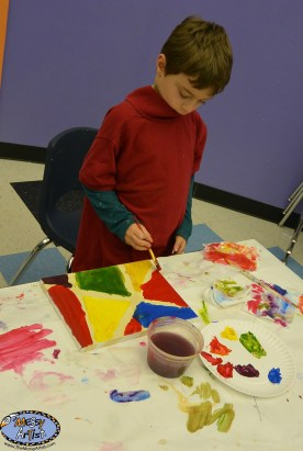 the messy artist for kids