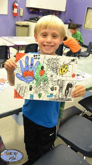 2nd grade art project