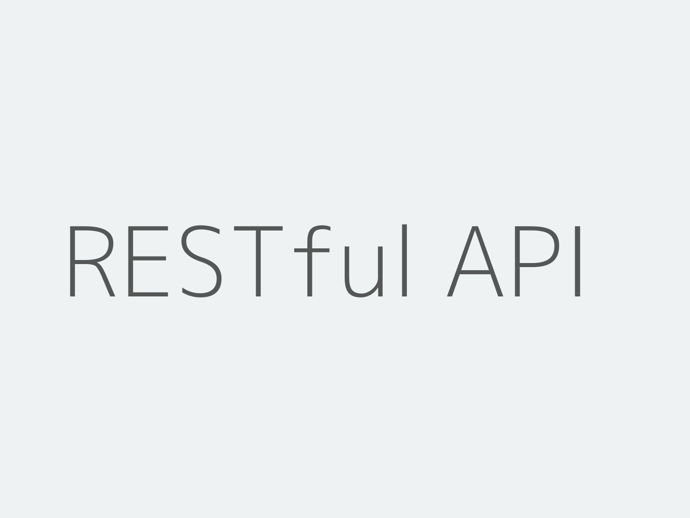 RESTful API Example with Spring Boot, Spring Data REST and
