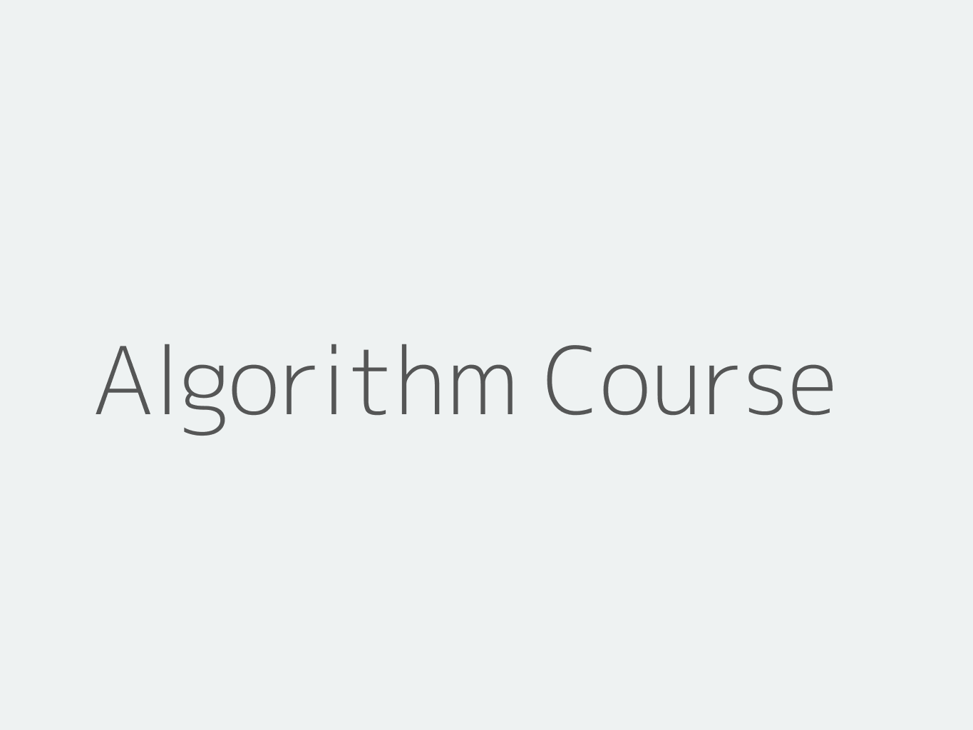 Algorithms Bootcamp For Your Next Coding Interview