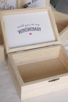Customize the inside cover of your box with a message and design!