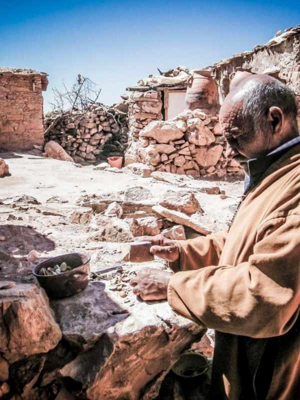 Les greniers fortifiés dans l'Anti-Atlas