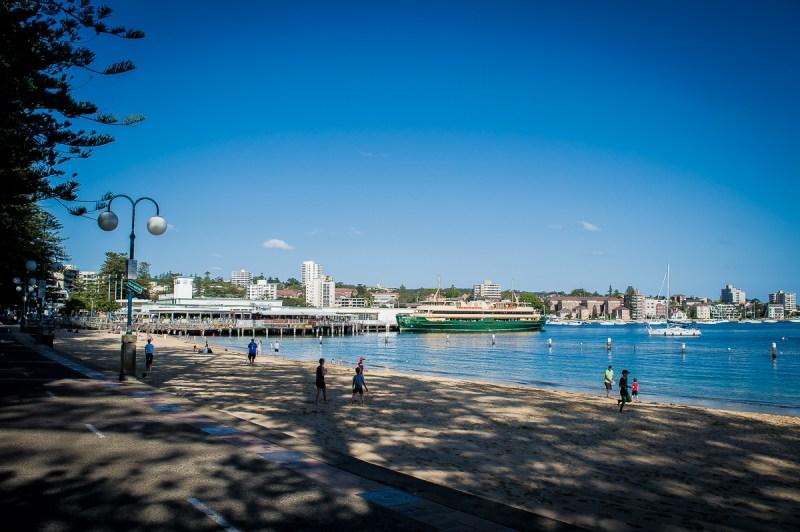 plage de Manly