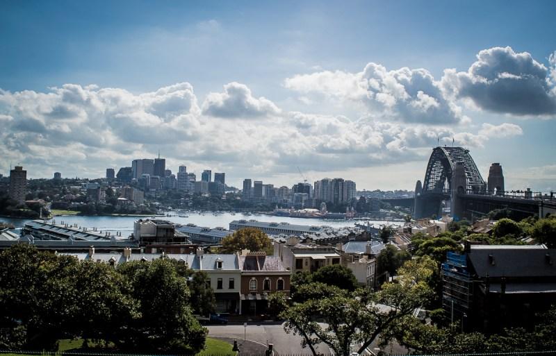 Sydney vue en hauteur
